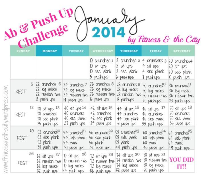 Ab Push up challenge